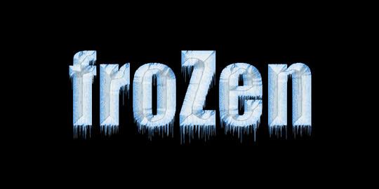 Cool Photoshop Text Tutorials Frozen Text Tutorial Photoshop